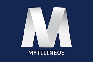 MYTILINEOS LOGOTYPE BOXED CMYK22