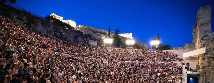 On Wednesday 12 June at 12.00, starts the presale of GNO's La traviata at the Odeon of Herodes Atticus